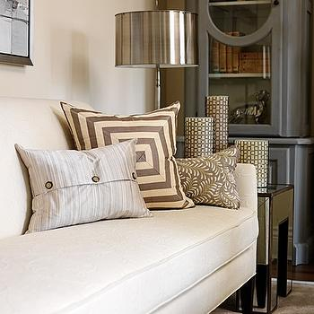 Mitered Pillow, Contemporary, living room, Cloverdale Paint Golden Pastel, House & Home