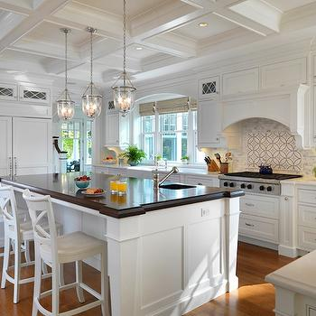 White Shaker Cabinets, Transitional, kitchen, Kate Coughlin Interiors
