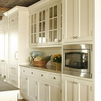 Cream Kitchen Cabinets, Country, kitchen, Shelter Interiors LLC