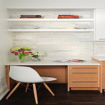 Kitchen Desk, Contemporary, kitchen, Buchman Photo