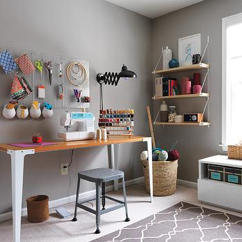 Captivating Home Sewing Room