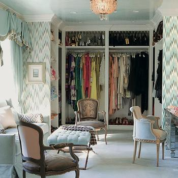Walk In Closet Design, Contemporary, closet, Mary McDonald