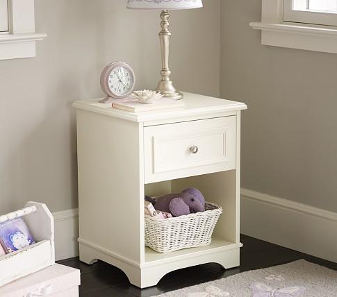 fillmore nightstand pottery barn kids. Black Bedroom Furniture Sets. Home Design Ideas