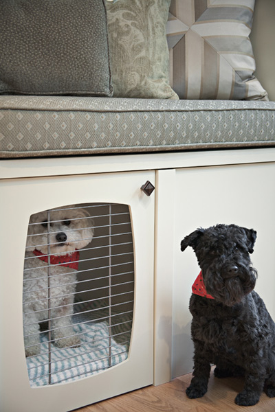 Built In Dog Bed Nooks Design Ideas