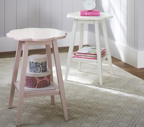 Attractive Flower Accent Table   Pottery Barn Kids