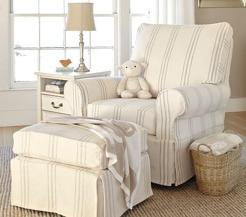 pb kids comfort swivel glider ottoman pottery barn kids. Black Bedroom Furniture Sets. Home Design Ideas
