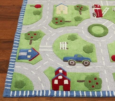 play in the park rug pottery barn kids