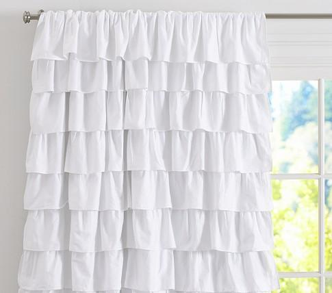 Ruffle Blackout Panel