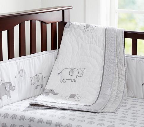 Pottery Barn Baby Bedding Elephants