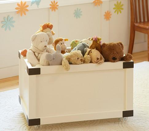 Rustic Toy Box Pottery Barn Kids