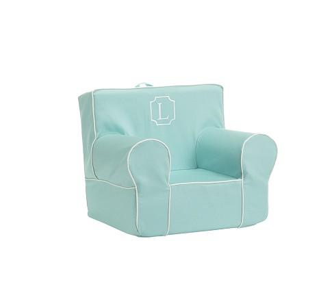 Aqua Harper My First Anywhere Chair - Pottery Barn Kids