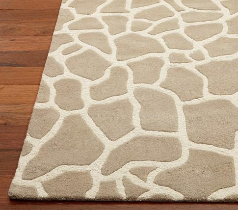 Serengeti Giraffe Print Rug Rosenberry Rooms
