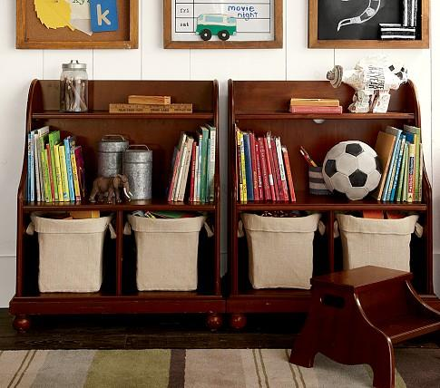 Catalina Console Bookcase Pottery Barn Kids