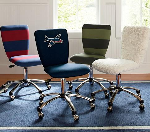 Admirable Square Upholstered Task Chair Pottery Barn Kids Inzonedesignstudio Interior Chair Design Inzonedesignstudiocom