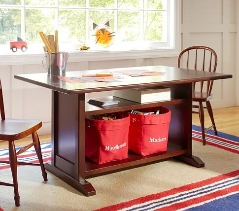 & Hayden Storage Play Table - Pottery Barn Kids