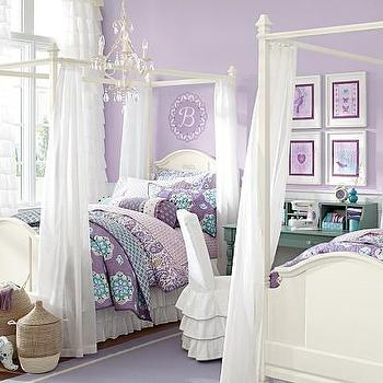 Madeline Bed & Canopy, Pottery Barn Kids