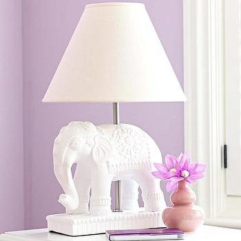 Elephant Complete Lamp, Pottery Barn Kids