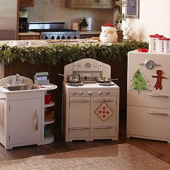 White Retro Kitchen Collection   Pottery Barn Kids