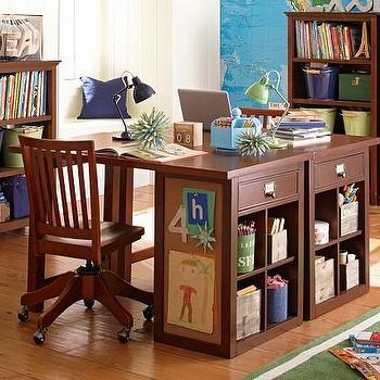 Schoolhouse Craft Desk   Pottery Barn Kids