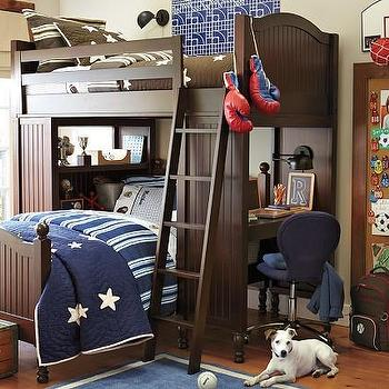 Catalina Bunk System and Twin Bed Set, Pottery Barn Kids