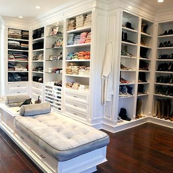 Closet Shoe Racks, Transitional, closet, Bravo TV