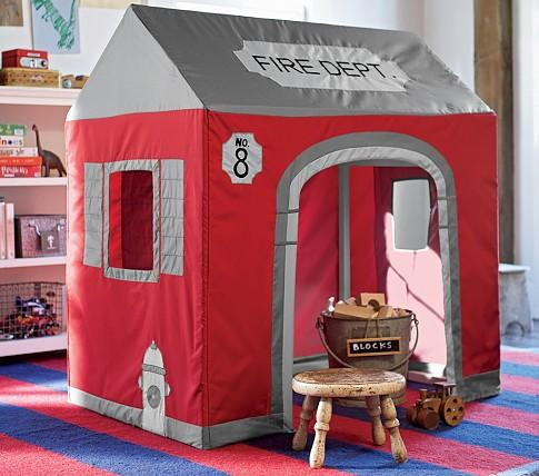 Firehouse Playhouse Pottery Barn Kids