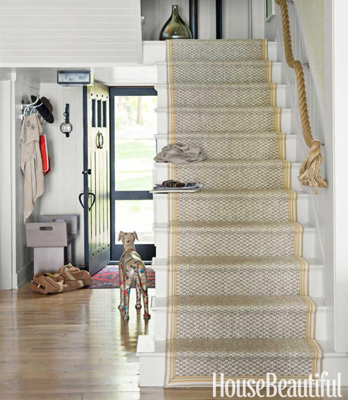 Rope Staircase Handrail Design Ideas