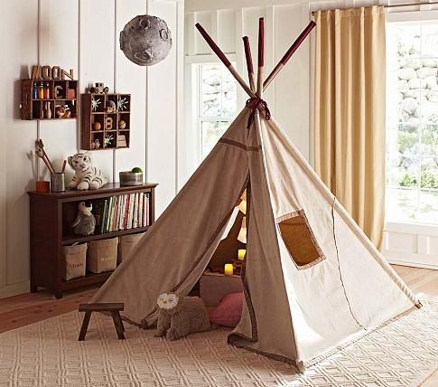child indoor tent. Teepee  Pottery Barn Kids