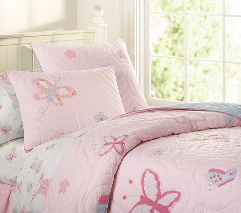 Lindsey Quilted Bedding Pottery Barn Kids