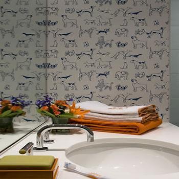 Boy's Bathroom, Contemporary, bathroom, Sally Steponkus Interiors