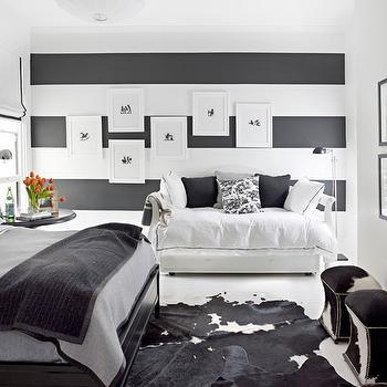 Boy S Room Striped Walls Contemporary Boy S Room