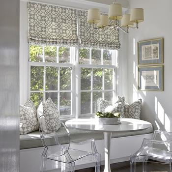 Built In Banquette, Contemporary, kitchen, Sally Steponkus Interiors