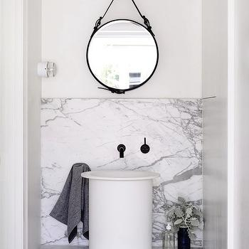 Marble Floating Bathroom Vanity, Modern, bathroom, Hecker Guthrie