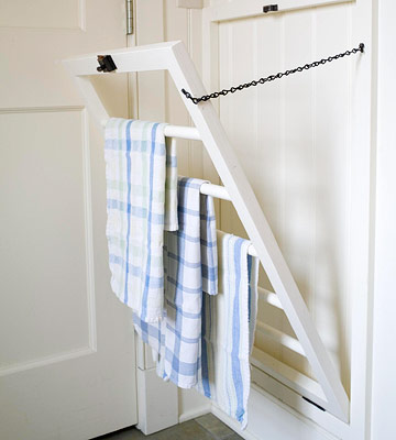 Dish Towel Rack - Traditional - kitchen - BHG