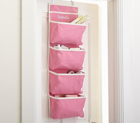 Pink Harper Over Door Storage Pottery Barn Kids