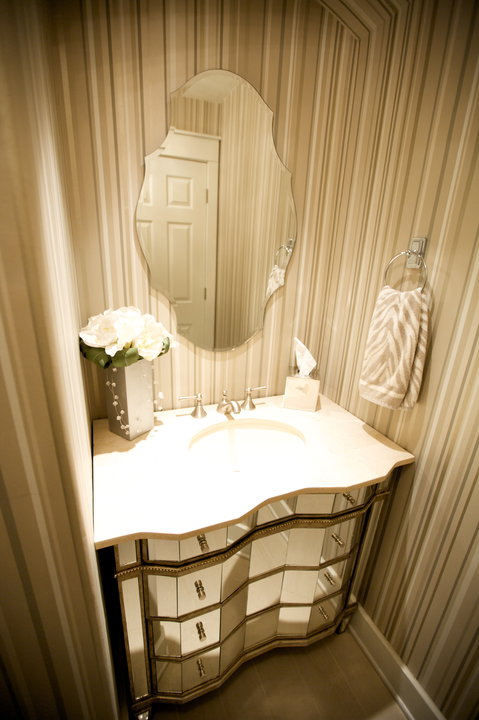 Small powder room design ideas - Small powder room decorating ideas ...