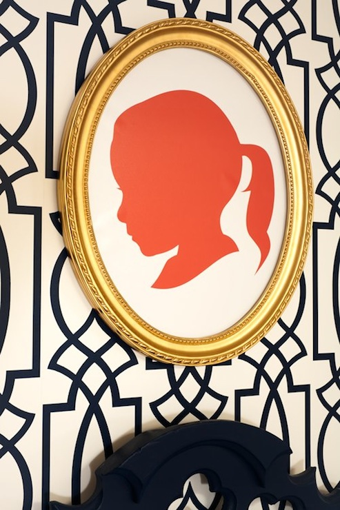 Silhouette Wall Art, Contemporary, girl's room, J and J Design Group