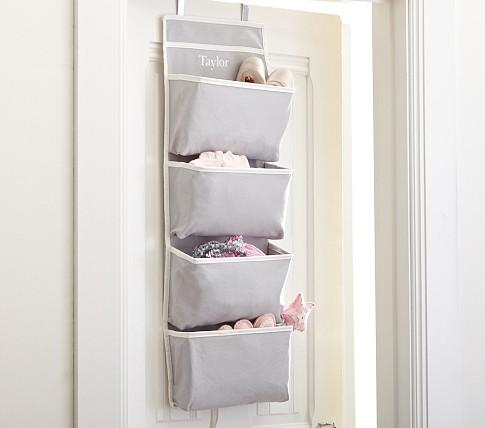 Etonnant Gray Harper Over Door Storage   Pottery Barn Kids