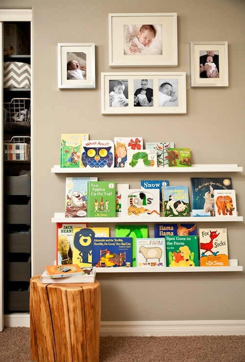 Ikea Ribba Picture Ledge - Transitional - nursery - J and ...