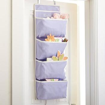Gray Harper Over Door Storage Pottery Barn Kids