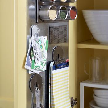 Yellow Kitchen Cabinets, Transitional, kitchen, BHG