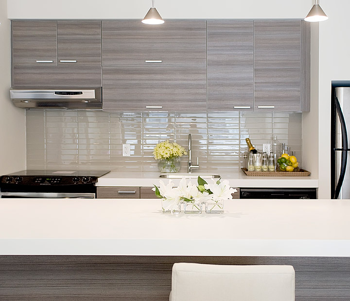 White Kitchen Island Gray Corian Countertop Design Ideas