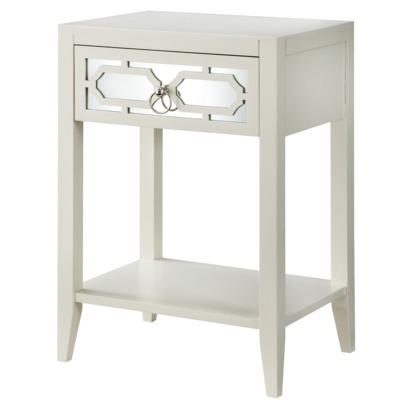 ... Accent Table I Target view full size - Gray And White One Drawer Accent Table