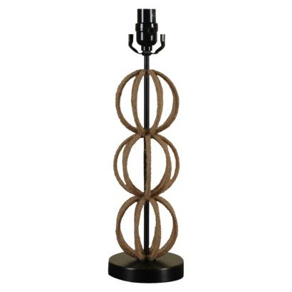 Threshold Table Lamp Rope Sphere Stack I Target