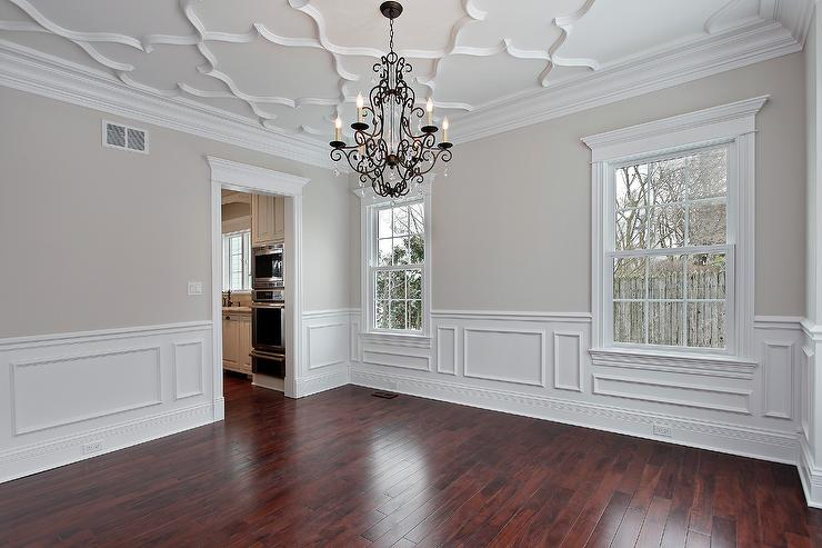 Plaster Ceiling Traditional Dining Room Benjamin