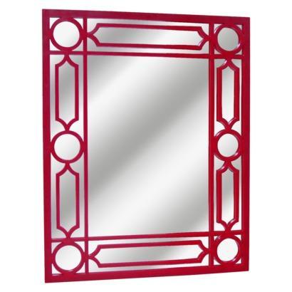 Threshold Rectangular Ruby Lattice Mirror