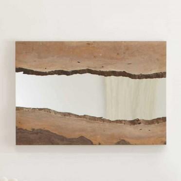 Matumi live edge mirror i vivaterra for Cool framed mirrors