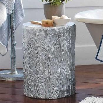Recycled Aluminum Tree Trunk I VivaTerra