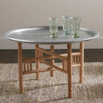 Moroccan Tray Table Pottery Barn