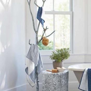 Recycled Metal Branch Coat Tree I VivaTerra